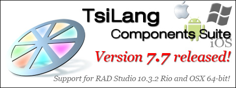 TsiLang Components Suite- Best globalization tool 2004!